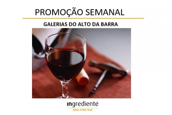 INgrediente: 25% Desconto nos Vinhos Tintos do Douro