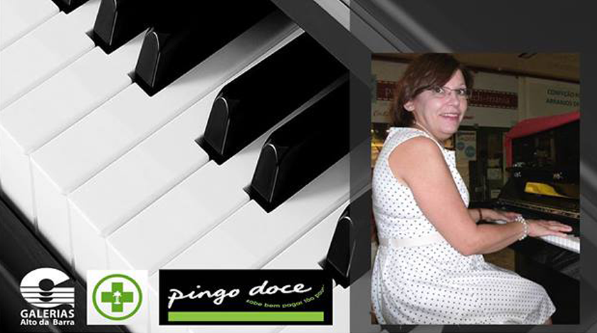 Galerias ao som do piano